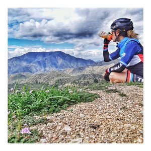 Training in altitude with Cindy Montambault