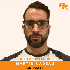 Martin Nadeau - Crossfit - Team Power Run