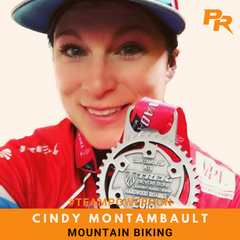 Cindy Montambault - Mountain Biking - Team Power Run