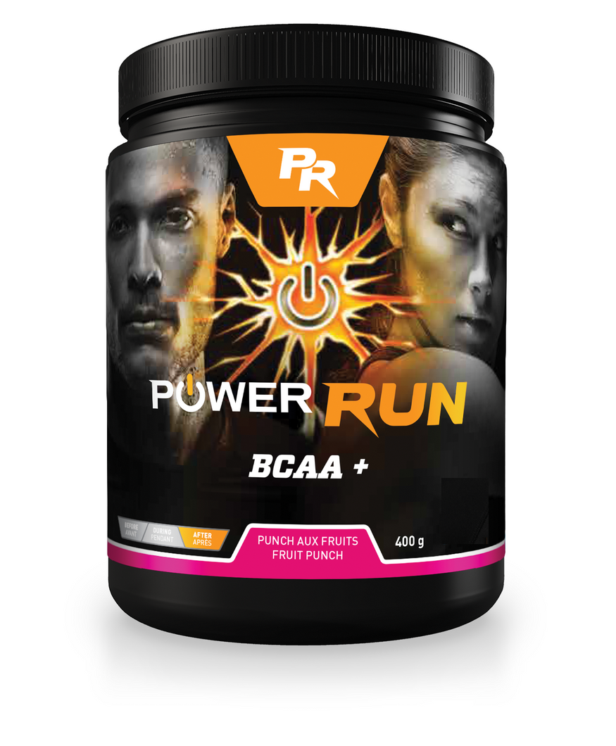 BCAA Plus (2:1:1) | By Power Run® | Naturally Flavoured 400g (57 servings)