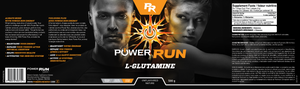 L-GLUTAMINE | By Power Run® | Unflavoured 500g