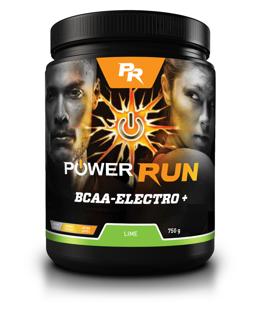 BCAA-ELECTRO+ | By Power Run® | Naturally Flavoured 750g