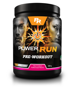 PREWORKOUT | By Power Run® | Naturally Flavoured 500g