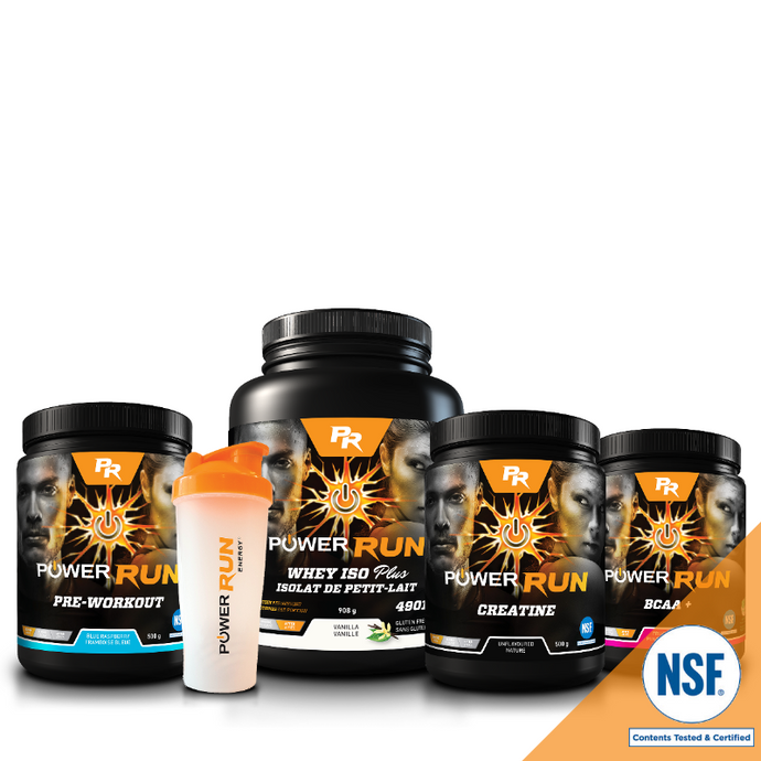 Essentials for Gym Training | NSF Certified