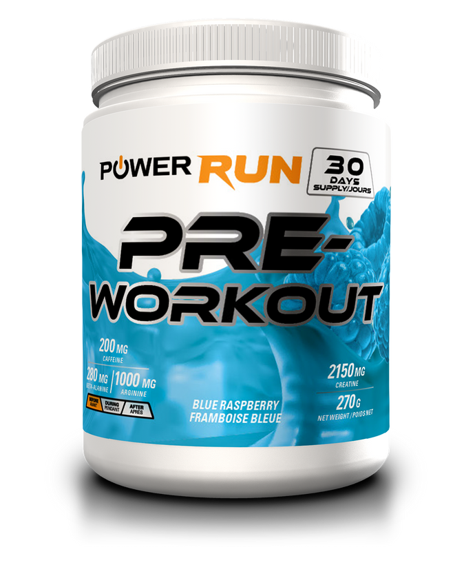PREWORKOUT |  By Power Run®