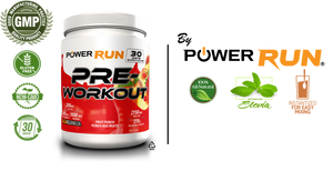 "PREWORKOUT |  By Power Run® ""White Label"" 