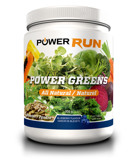POWER GREENS | By Power Run