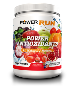 POWER ANTIOXIDANTS 300g | By Power Run | Flavoured Wildberries