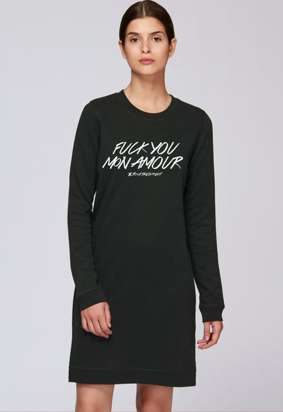 boutique streetwear sportswear ROBE  Fuck you Amour - Long paris