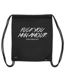 boutique streetwear sportswear bag  FUCK YOU MON AMOUR paris