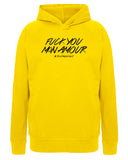 boutique streetwear sportswear hoodie  FUCK YOU MON AMOUR paris