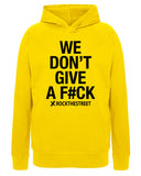 boutique streetwear sportswear HOODIE  WE DON'T GIVE A F#CK paris