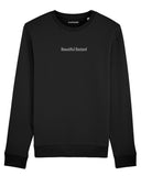 sweatshirt beautiful bastard noir coton bio
