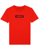 tshirt amour rouge t shirt amour rouge coton bio