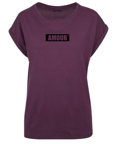 tshirt amour bordeaux t shirt amour bordeaux