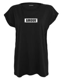 boutique streetwear sportswear T SHIRT FEMME  AMOUR T SHIRT paris