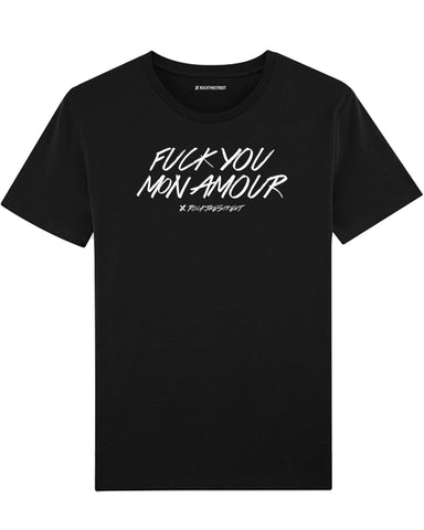 boutique streetwear sportswear T SHIRT  FUCK YOU MON AMOUR paris