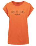 boutique streetwear sportswear T SHIRT FEMME  GANG DE COPINES paris