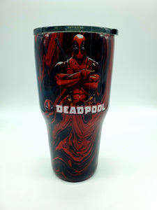 Deadpool Tumblers and Nerd Stein
