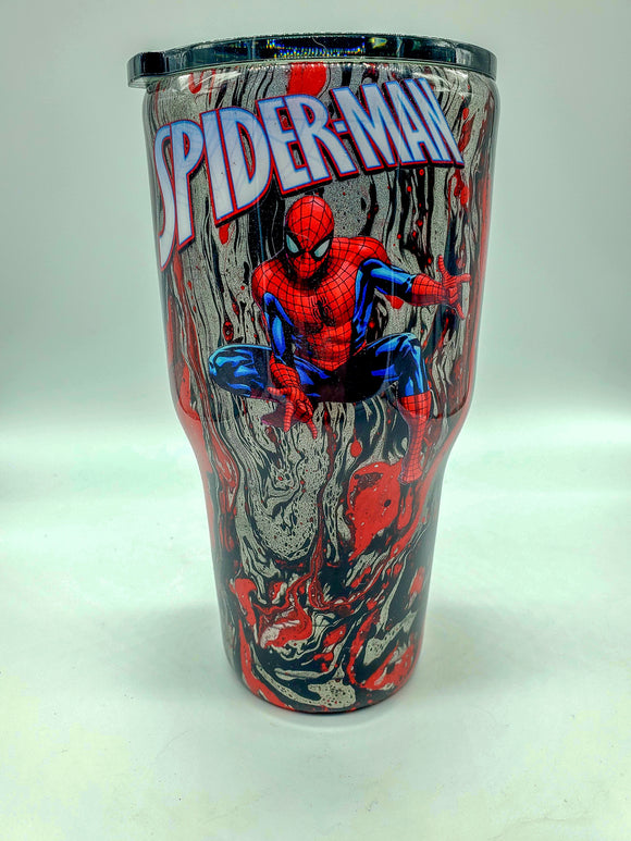Spiderman Tumblers and Nerd Stein