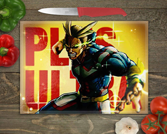 My Hero Academia Almight Cutting Board