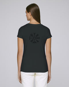 Vegvísir Women's - Black on Black