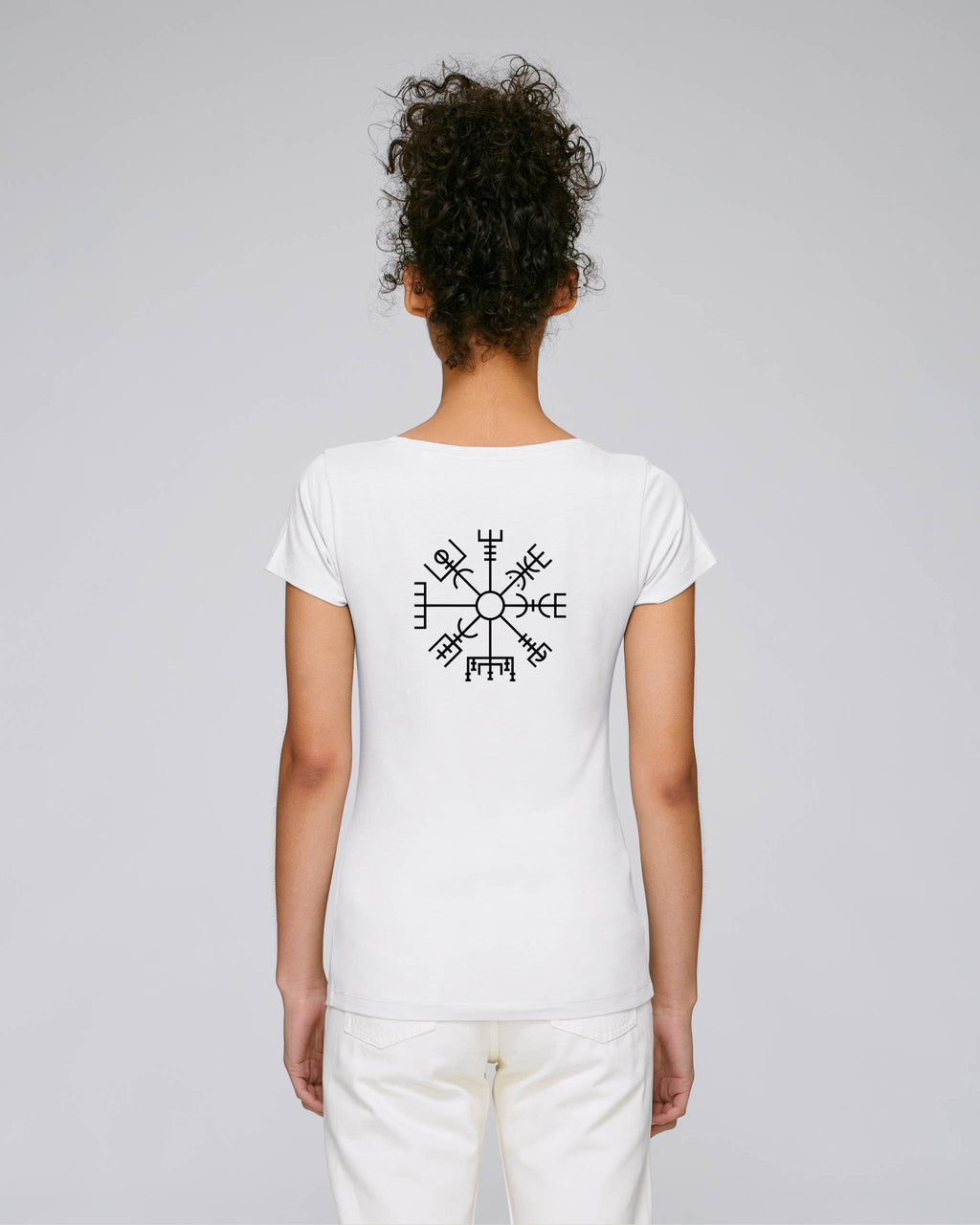 Vegvísir Women's - Fitted - White