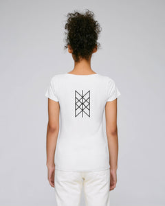 Web Of Wyrd Women's - Fitted - White