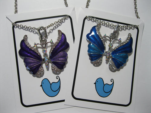 Butterfly Fashion Necklace