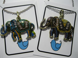 Elephant fashion necklace
