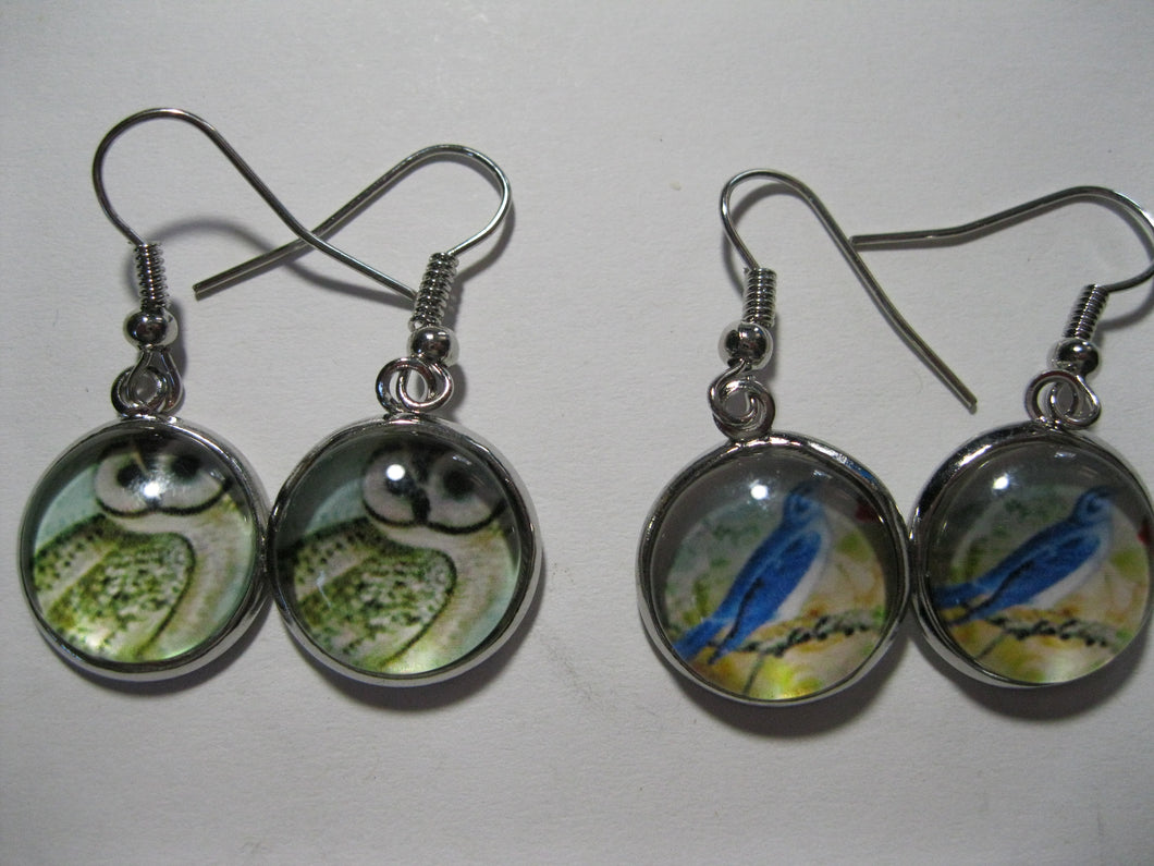 Glass Nature earrings