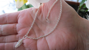 Sterling Silver anklet, bracelet, necklace