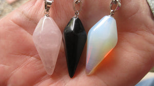 Pendulum Stone Necklaces