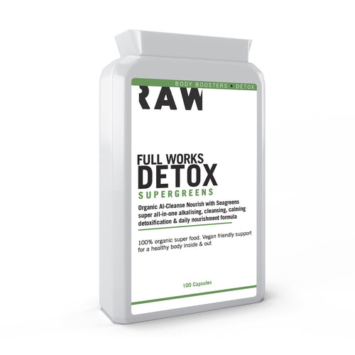 Supergreens Organic Detox with Kelp