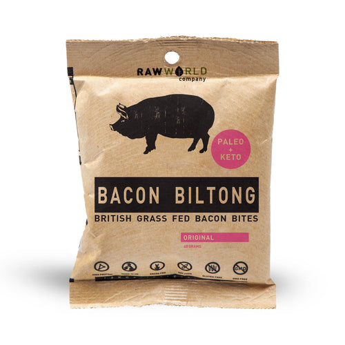 Keto Bacon Biltong 40g Wholesale