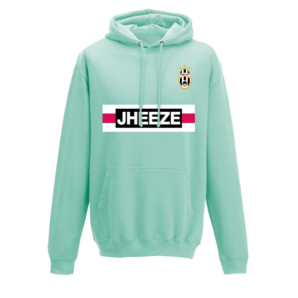 Jheeze Hoodie (Mint & Black options)