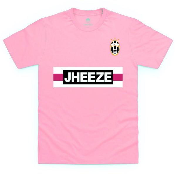 Jheeze T Shirt (pink & black)