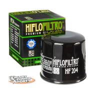 HiFlo HF204 Oil Filters - Multi Pack- Black, Chrome, or Racing