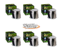 HiFlo HF138 Oil Filters - Multi Packs - Black, Chrome or Racing