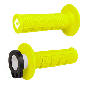 ODI Lock-on V2 Half Waffle MX Grips -ALL COLORS-(2 & 4-STROKE) Made in USA
