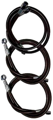 PowerMadd Extended Brake Line - Polaris