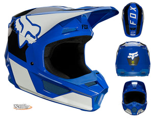 FOX Racing 2021 V1 Adult Helmets - CHOOSE YOUR COLOR - Magnetic Visor - MIPS