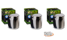 HiFlo HF171 Oil Filters - Multi Pack - Chrome or Racing Chrome