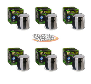 HiFlo HF303 Oil Filters - Multi Pack - Black, Chrome, or Racing