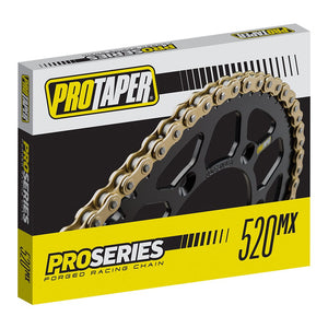 ProTaper Pro Series Forged 520 Racing Gold Chain 120L - 021694 - FREE PRIORITY