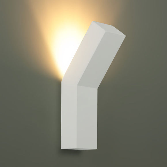 Ceramic LED Cube Shape Wall Light