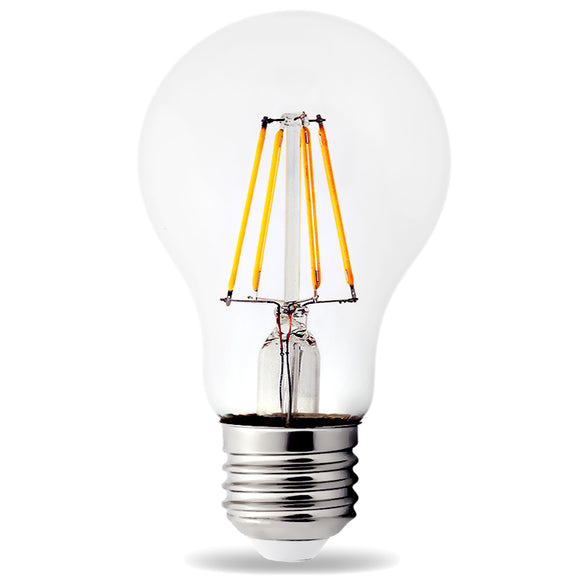 LED E27 Cap ES A60 8W Light Bulb