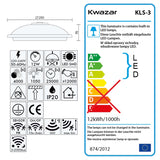LED Automatic Ceiling Light with Motion Detector Sensor KLS-3