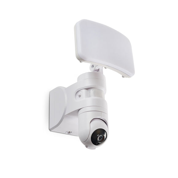 LED Flood Light with Motion Sensor and HD Security Camera