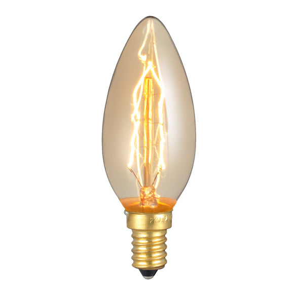 Antique Edison DECOR-B 220V-240V 40W Retro Vintage Industry Style Decoration Light Bulb